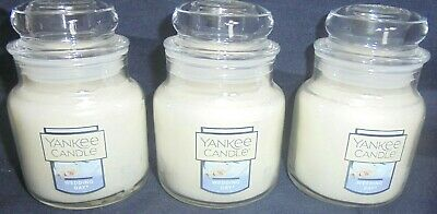 Yankee Candle 3x Wedding Day Small 3.7 Oz Jar Candles ~ Free Shipping