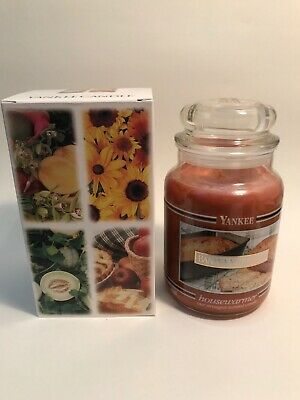 Yankee Candle 22oz Banana Nut Bread Retired 2007 Black Band Jar Gift Box New