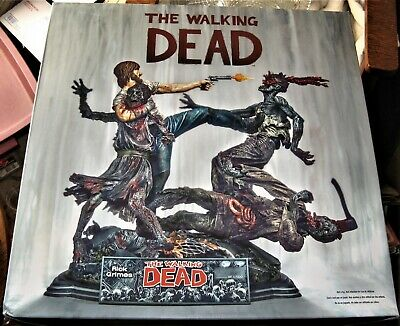 The Walking Dead Rick Grimes Mcfarlane Toys 12 Inch Resin Statue New