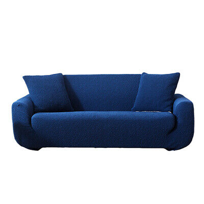 Solid Color Stretch Sofa Slip Cover Furniture Protector Pet Throw Dogs Kids