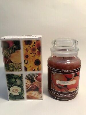 Yankee Candle 22oz New Spiced Pumpkin Retired