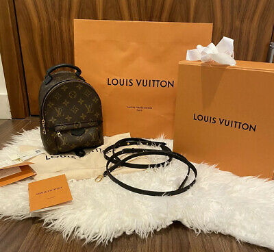 New Louis Vuitton M48873 Palm Springs Mini Lv Backpack Sold Out Monogram Canvas