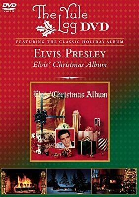 Elvis Christmas - Yule Log - Dvd - Multiple Formats Color Ntsc - *excellent*