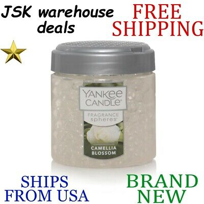 *new* Yankee Candle Camellia Blossom Long Lasting Decorative Fragrance Spheres