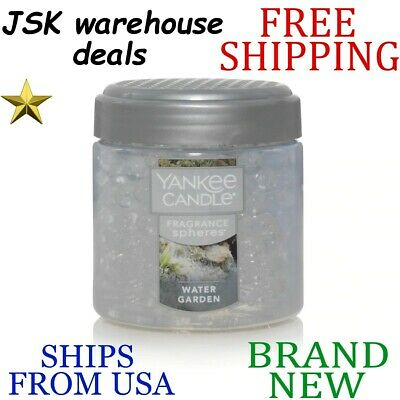 *new* Yankee Candle Water Garden Long Lasting White Decorative Fragrance Spheres
