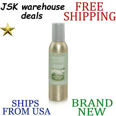 *new* Yankee Candle Afternoon Escape Long Lasting Room Spray Up To 300 Sprays