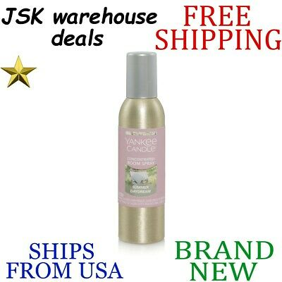 New Yankee Candle Fresh Summer Daydream Long Lasting Room Spray Up To 300 Sprays