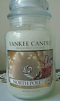 Yankee Candle  North Pole 22 Oz  New Housewarmer  Free Shipping Rare