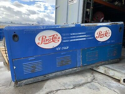 1950s Country Store Vintage Quikold Pepsi Cooler Ice Chest Complete