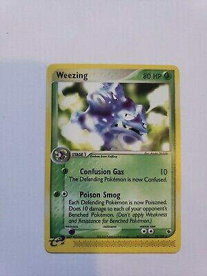 WEEZING - 24/109 - Ruby & Sapphire - Rare - Pokemon Card - used