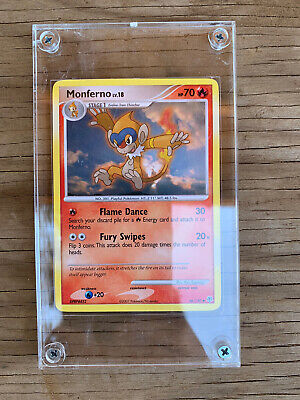 Monferno 56/130 Uncommon Pokemon Card Lv. 18 Diamond & Pearl Slabbed NM