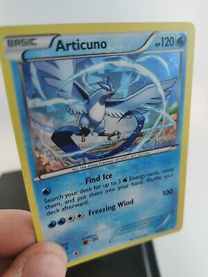 Pokemon Cards Articuno 16/108 Cracked Ice / Shattered Holo Rare Roaring Skies
