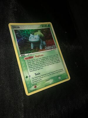 Ditto Bulbasaur 36/113 EX Delta Species Holo Stamped *NM/MT* Pokemon Card