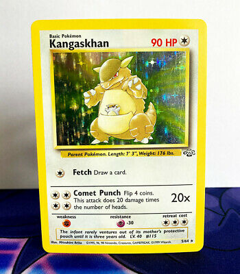 Kangaskhan Holo Rare Jungle 5/64 Pokemon Card - Moderately Played