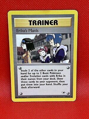 Erika's Maids 109/132 Gym Heroes - Uncommon Pokemon Card - HP