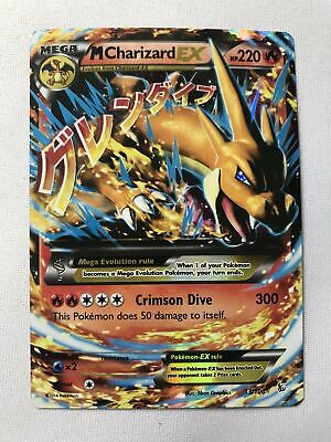 M Charizard EX 13/106 Flashfire Holo Ultra Rare Pokemon Card Near Mint