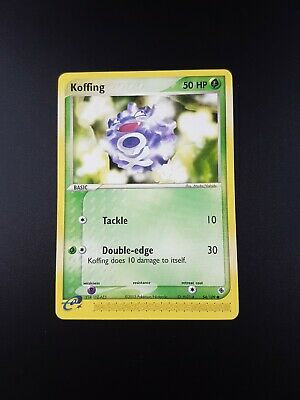Koffing 54/109 Good Condition Non-Holo EX Ruby & Sapphire Pokemon Card