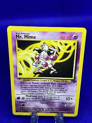Mr Mime Jungle 22/64 Rare Non-Holo Pokemon Card FREE SHIPPING