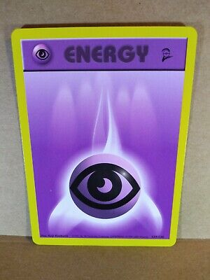 Pokemon Energy Card : Psychic  129/130 (Base Set 2)