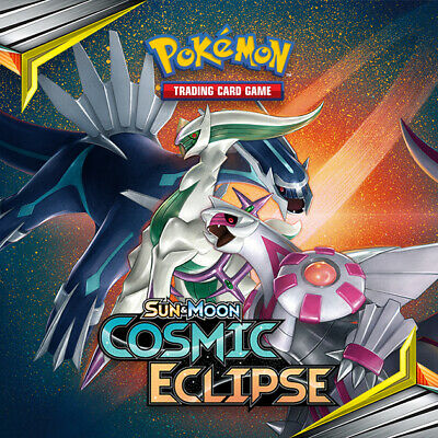 Pokemon Cosmic Eclipse Reverse Holo Common CHOOSE YOUR CARD NM 2019