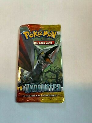 Pokemon HS Undaunted Booster Pack - Skarmory Art - Factory Sealed New!