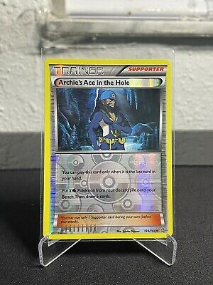 ARCHIE'S ACE IN THE HOLE 124/160 Reverse Holo Pokemon XY Primal Clash NM 🔥