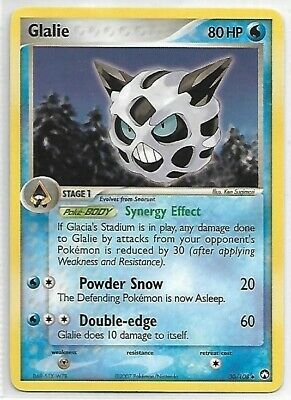 Pokemon Uncommon Card : Glalie  30/108 (Ex Power Keepers)