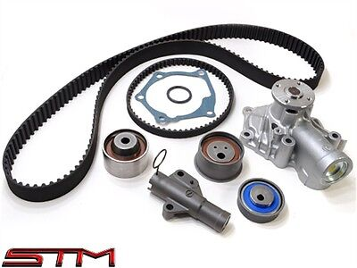 Oem 4g63 Evo Timing Belt Replacement Kit Evo 8 With Water Pump Free Shipping