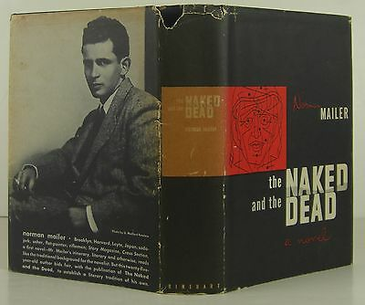 Norman Mailer The Naked And The Dead Signed First Edition