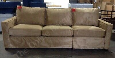 Pottery Barn Cameron Grand Sofa Sectional Loveseat Chair Nutmeg Everydaysuede