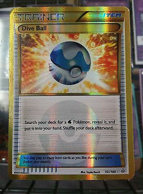 1x Dive Ball 161/160 Primal Clash Pokemon TCG