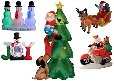 Inflatable Christmas Indoor Outdoor Yard Decorations - Multiple Themes