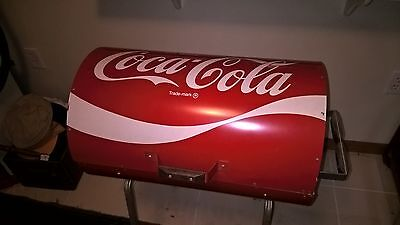 Coca Cola Can Grill Bbq Full Size Vintage Old Bottle Pepsi Sign