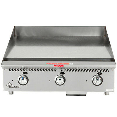 """Star 848ma 48"""" Countertop Gas Griddle W/ Manual Controls"""