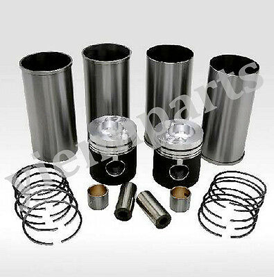 De12tis D2366ti Piston Cylinder Liner Kit For Doosan Daewoo Engine Solar 340lc