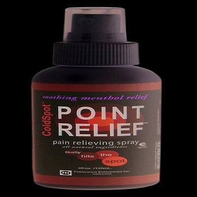 Fabrication 11-0701-144 Point Relief Coldspot Lotion-spray-4 Oz Bottle- 144 Each