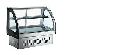"""Omcan 36514 Rs-cn-0173 6.1cf 47"""" Countertop Cold Bakery Deli Refrigerated Case"""