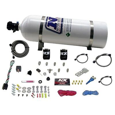 Nitrous Express 20923-15 All Sport Compact Efi Single Nozzle System 15lb Bottle