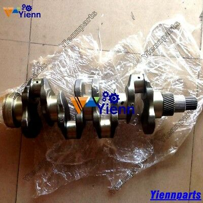 New V3600 V3600di V3800 Crankshaft For Bobcat Excavator Kubota Tractors Engine