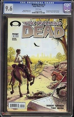 Walking Dead # 2 Cgc 9.6 White (image, 2003) 1st Appearance Carl