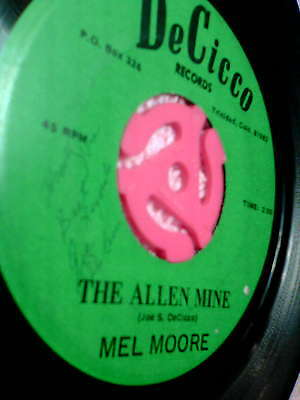 Mel Moore-the Allen Mine Signed Obscure Private Press
