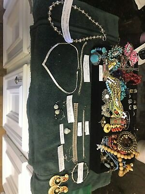 Huge! 50++pc Lot Of Vintage Jewelry Pins, Brooches, Earrings, Pendants, Signed