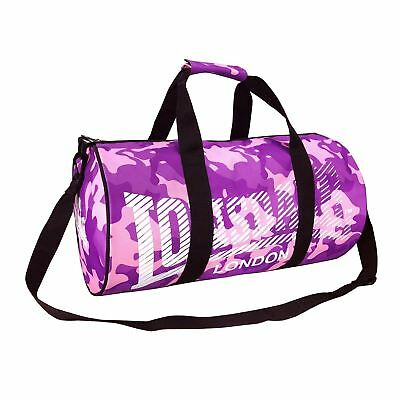 Сумка Lonsdale Barrel Bag Camouflage Pink/Purple