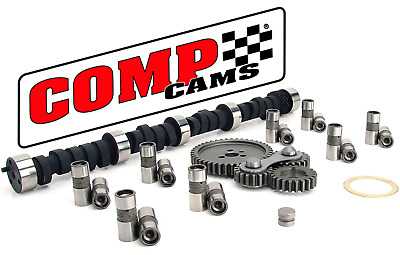 Comp Cams Magnum Camshaft & Lifters Kit W/ Gear Drive For Chevrolet Sbc 350 400