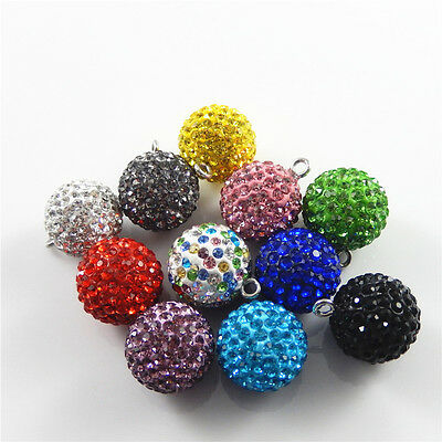 Бисер Colorful Crystal Ball Bell 2pcs