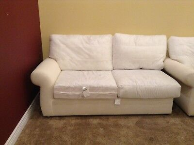 Pottery Barn Pearce Couch Sofa Sectional Left Arm Loveseat Down No Slipcover