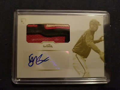 2013 Topps Finest Didi Gregorius Rc Printing Plate Auto Jersey 1/1 Yankee Rookie
