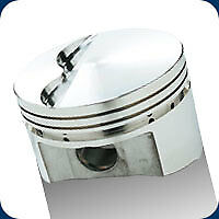 197560 Srp Pistons 351w Stroker Windsor Flat Top 430 Sb Ford 4.005 Bore 12.3:1