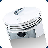 206044 Srp Pistons 351 Cleveland Flat Top 357 Ford 4.030 Bore 9.0:1 Compression
