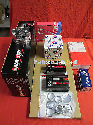 Olds 350 Master Engine Kit Forged Flat Pistons Moly Rings 1972-76 Stage 2 Cam